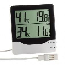 Термогігрометр для установки всередині і зовні приміщень